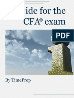 TimePrep Guide for the CFA Exam