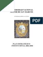 Plan Estrategico Institucional 2002 2006