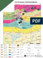 Peta geologi karangsambung
