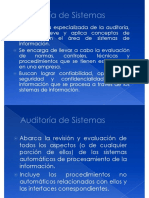 Auditoria de Sistemas Enfoque General
