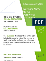 the big event    collaborative presentation