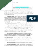 eportfolio reflection planning