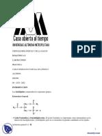 Caracterizacion de Lipidos - Practicas - Metodologia y Experimentacion Bioquimicas - Bioquimica