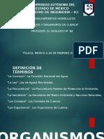 Organismos y Consejos de Cuenca