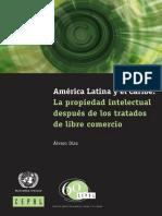 América Latina y el Caribe La propiedad intelectual después de los tratados de libre comercio