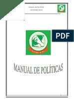 Manual de Politicas