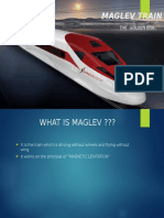 PPT on MAGLEV TRAIN