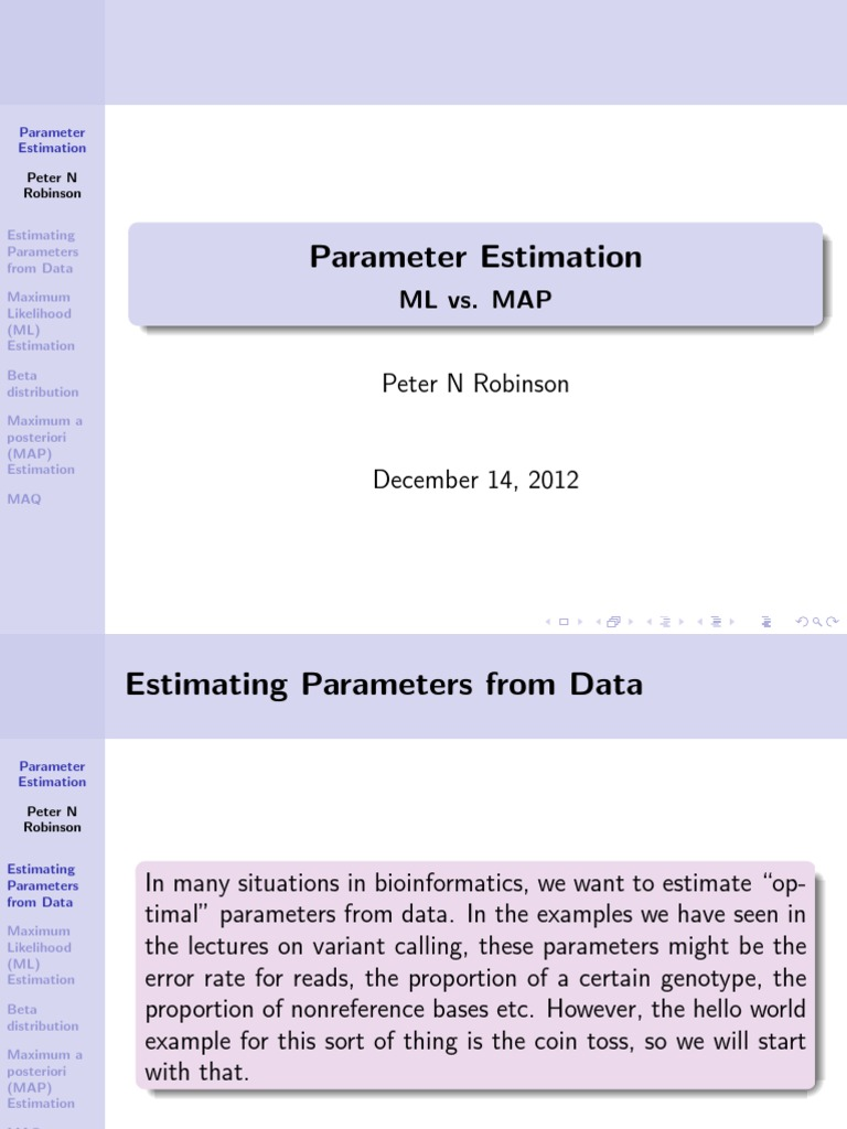 MLvsMAP | Estimation Theory | Probability Density Function on map simulation, map math, map assessment, map description, map visualization, map navigation, map interpretation,