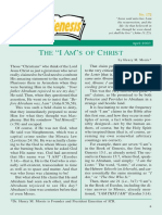I AMs of Christ