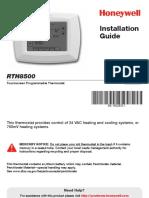 Honeywell RTH8500 Installation Guide.pdf