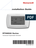 Honeywell RTH8500 Series Quick Installation Guide.pdf
