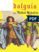 Hidalguia - Rafael Sabatini