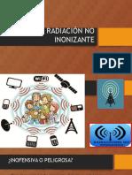 Radiación No Inonizante - Antenas