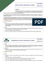 Normatividad aplicada insutria del cementop
