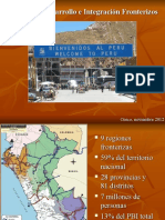 Desarrollo Integracion Fronterizos Sr.javier Lossio