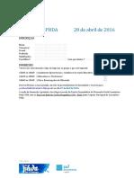 Formação PHDA Inscição