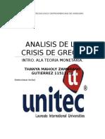 Informe de Grecia