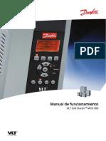 MG17K305 Manual de funcionamiento VLT®  for MCD 500