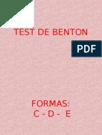 Benton Figuras- PPT