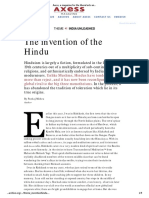 Invention of Hindu Axess
