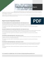 Techno-Economic Assessment About Polyurethane