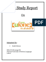 Case Study on Ufone by NUML