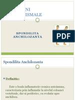 1 Spondilita Anchilozanta (Prezentare)