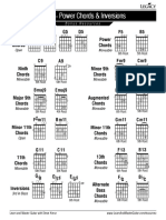 Power Chords & Inversions