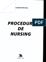 Proceduri de Nursing