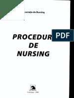 Proceduri de Nursing