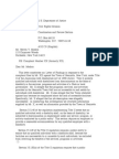 US Department of Justice Civil Rights Division - Letter - lof035