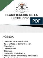 Planificación de la Instrucción