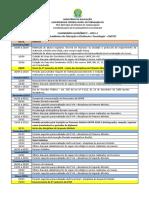 Calendario Academico 2015 2 Eadtec