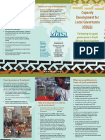 Local Governance in Africa