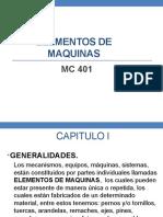 CAP I - MC401 2016-1
