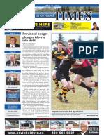 April 22, 2016 Strathmore Times
