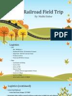 railroad fieldtrip pptx