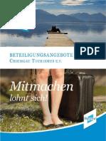 Beteiligungskonzepte Online/Print beim Chiemgau Tourismus e.V.