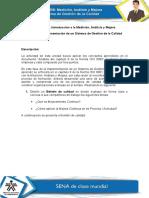 Introducción a La Medición, Análisis y Mejora