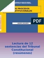 Sesion 5 - LOS PROCESOS CONSTITUCIONALES