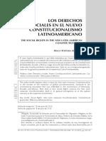 hugo tortora - LOS DERECHOS SOCIALES EN EL CONSTITUCIONALISMO ANDINO