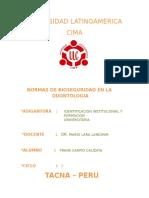Normas Bioseguridad en Lfgfga Odontologia