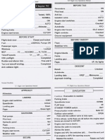 B737 Generic Checklist