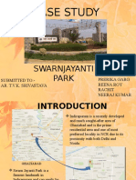 Case Study on swarnjayanti park
