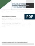 Techno-Economic Assessment about Salicylic Acid