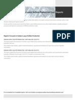 Techno-Economic Assessment about Sodium Lauryl Sulfate