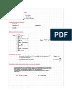 1ª Questão - Modelo de Cálculo de Sapatas