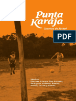Punta Karaja. Cuentos de Fútbol.