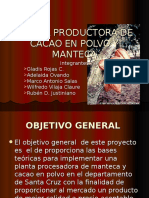 Presentación FINAL cacao en polvo