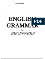 English Grammar for Beginners